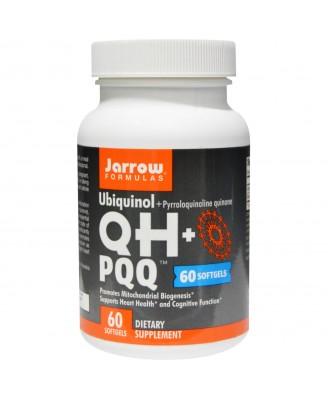 Ubiquinol QH+ PQQ (60 Softgels) - Jarrow Formulas