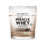 Dr. Mercola, Miracle lactosérum, protéines en poudre, chocolat, 1 lb (454 g)