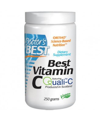 Best Poudre de vitamine C (250 g) - Doctor's Best