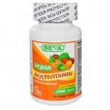 Supplément de multivitamine et de minéraux, Vegan, Deva, 90 comprimés