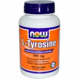 Now Foods, L-Tyrosine, 500 mg, 120 Capsules