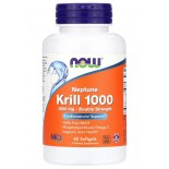 Neptune Krill 1000 (60 Softgels) - Now Foods