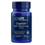 Cognizin CDP-Choline Caps 250 mg (60 Veggie Capsules) - Life Extension