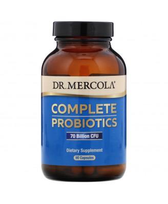 Dr. Mercola, Premium Supplements, Complete Probiotics, 90 Capsules