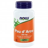 Now Foods, Pau D' Arco, 500 mg, 100 Capsules