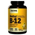 Jarrow Formulas, méthyl B12, saveur citron, 1000 mcg, 100 pastilles