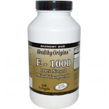 E-1000 (120 Softgels) - Healthy Origins
