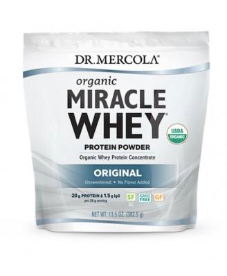 Dr. Mercola, Miracle lactosérum poudre de protéines Original (454 g)
