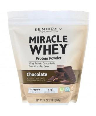 Miracle Whey - Protein Powder - Chocolate (454 Gram) - Dr. Mercola