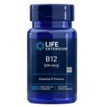 Vitamine B12 -  500 Mcg 100 zuigtabletten - Life Extension