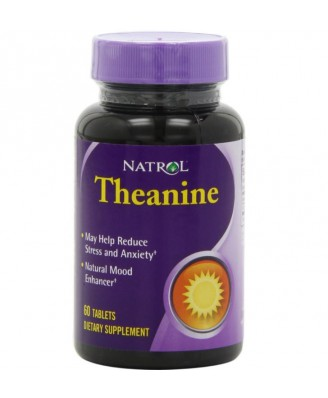 Natrol, Théanine, 60 comprimés