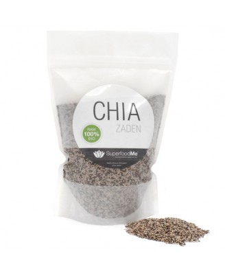 Graines de Chia bio (500 g) - Superfoodme