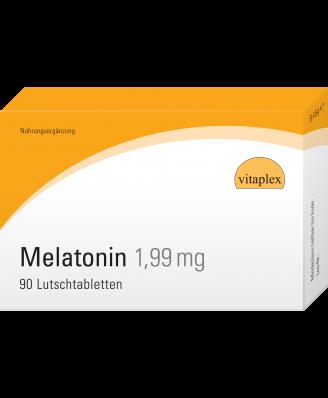 Melatonin 1,99 mg (90 Lozenges with orange flavor) - Vitaplex