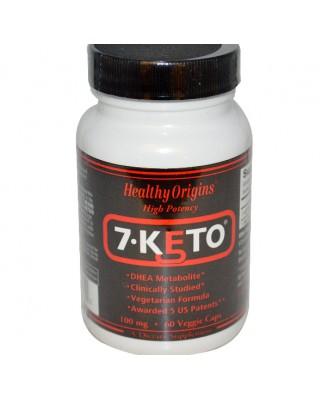 7-Keto 100 mg (120 Veggie Caps) - Healthy Origins