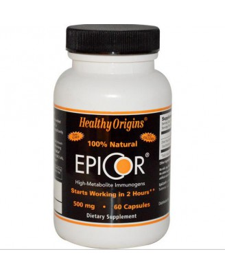 EpiCor 500 mg (60 Veggie Caps ) - Healthy Origins