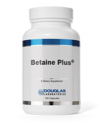 Betaine Plus - 100 Capsules,Douglas Laboratories