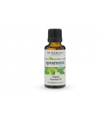 Spearmint Organic Essential Oil (1oz) Dr. Mercola