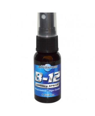 B-12 Spray 500 mcg (30 ml) - Pure Advantage