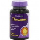 Natrol, Theanine, 60 Tablets