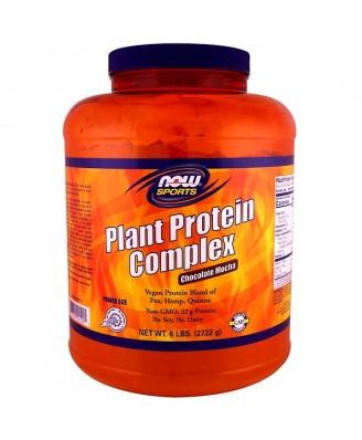 Plant Protein Complex- Chocolate Mocha (2722 gram) - Now Foods