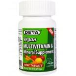 Deva, Multivitamin & Mineral Supplement, 90 Tiny Vegetarian Tablets