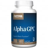 Alpha GPC 300, 300 mg (60 Veggie Caps) - Jarrow Formulas