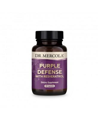 Dr. Mercola, Purple Defense, Premium Water Soluble Antioxidant, 30 Capsules