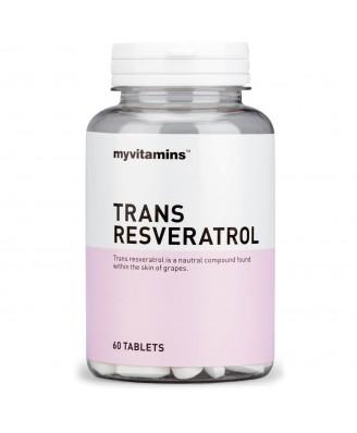 Myvitamins Trans Resveratrol, 60 Tablets (60 Tablets) - Myvitamins