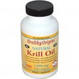 Healthy Origins, Krill Oil, Natural Vanilla Flavor, 1,000 mg, 120 Softgels