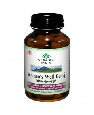 Women's Well Being (90 Veggie Caps) - Organic India