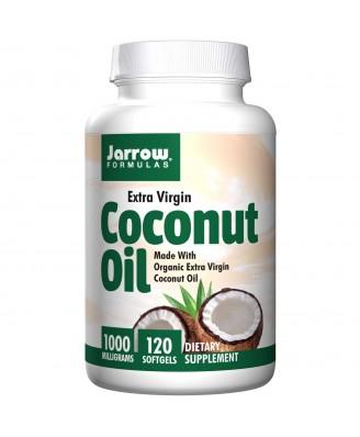 Coconut Oil Extra Virgin 1000 mg (120 Softgels) - Jarrow Formulas