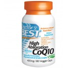 High Absorption CoQ10 with BioPerine 400 mg (180 Veggie Caps) - Doctor's Best
