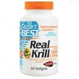 Echte Krill Olie met toegevoegde DHA & EPA (60 softgel capsules) - Doctor's Best