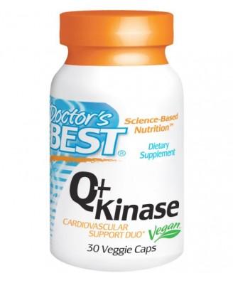 Doctor's Best, Q+Kinase, 30 Veggie Caps