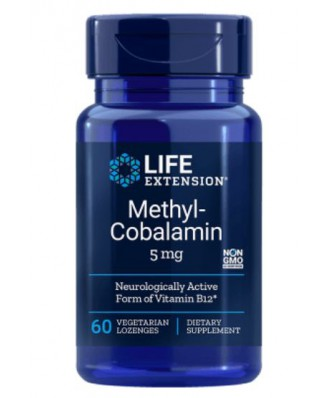 Methylcobalamin 5 mg (60 Veggie Lozenges ) - Life Extension