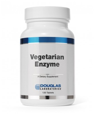 Douglas Laboratories,Vegetarian Enzyme 60NL