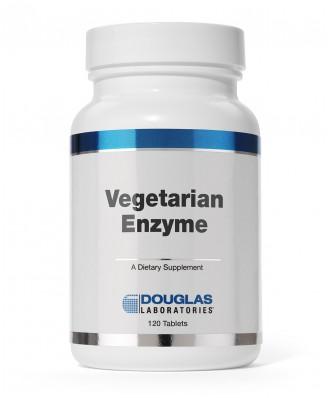 Douglas Laboratories, Enzyme végétarien (60 tablettes)
