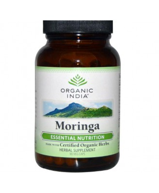 Moringa (90 Veggie Caps) - Organic India