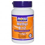 Now Foods, Methyl vitamine B12, 5000 mcg, 60 Lozenges