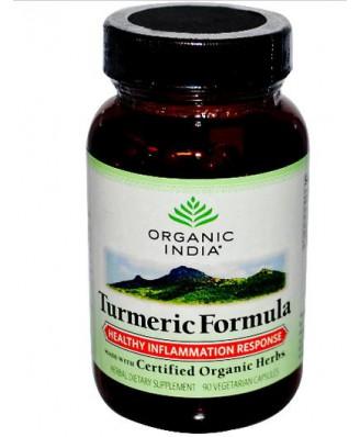 Turmeric Formula (90 Veggie Caps) - Organic India
