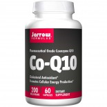 Jarrow Formulas, Co-Q10 200, 200 mg, 60 Capsules