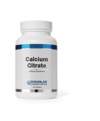 Citrate de calcium - 100 comprimés - douglas laboratories