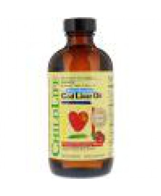 Cod Liver Oil, Natural Strawberry Flavor (237 ml) - ChildLife