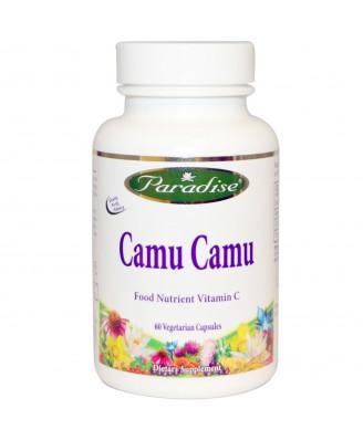 Paradise Herbs, Camu Camu, 60 Veggie Caps