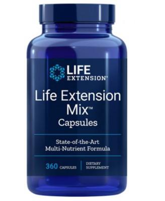 Mix Capsules (360 Capsules ) - Life Extension