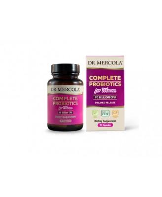 Complete Probiotics for Women (70 Billion CFU) (30 Capsules) - Dr. Mercola