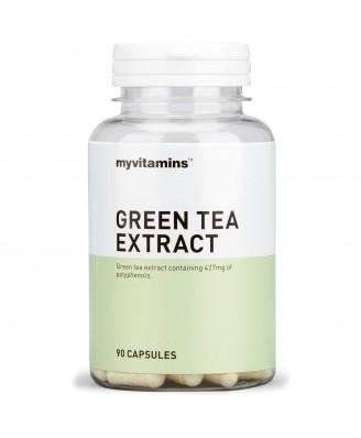 Myvitamins Super Green Tea Extract, 90 Capsules (90 Capsules) - Myvitamins