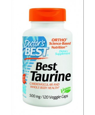 Doctor's Best, Best Taurine (120 vegetarian caps)