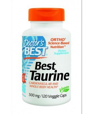 Doctor's Best, Best Taurine (120 vegetarian caps)