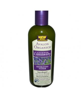 Hydraterende Toner, Lavendel Luminosity (207 ml) - Avalon Organics